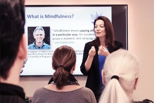 1-day intensive mindfulness course